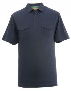 Navy man's polo shirt