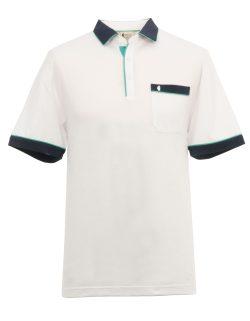 White man's polo shirt