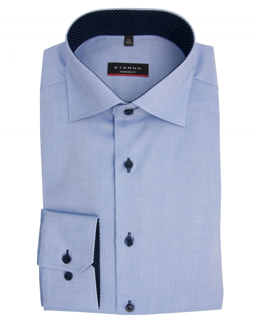 Eterna Oxford white shirt