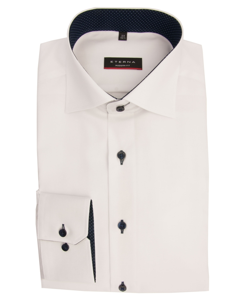 Eterna Oxford blue shirt