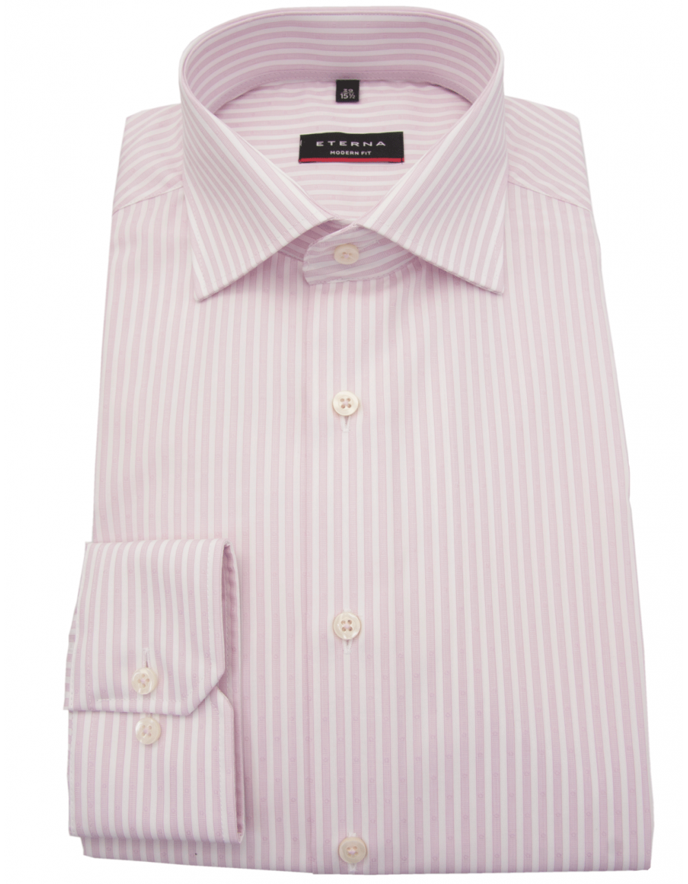 Eterna pink striped shirt