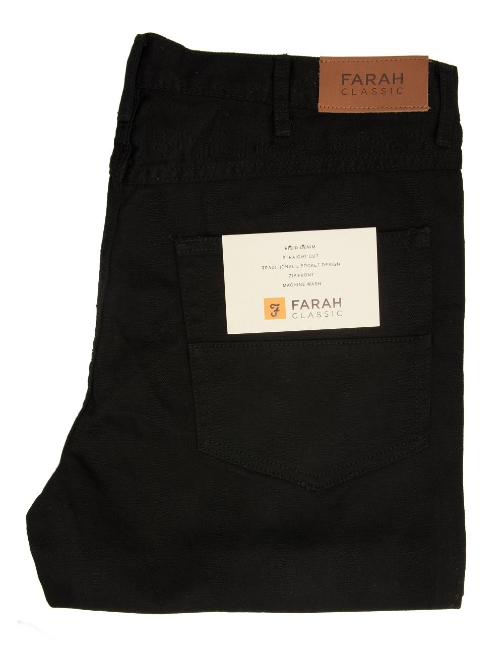 Farah Black Jeans