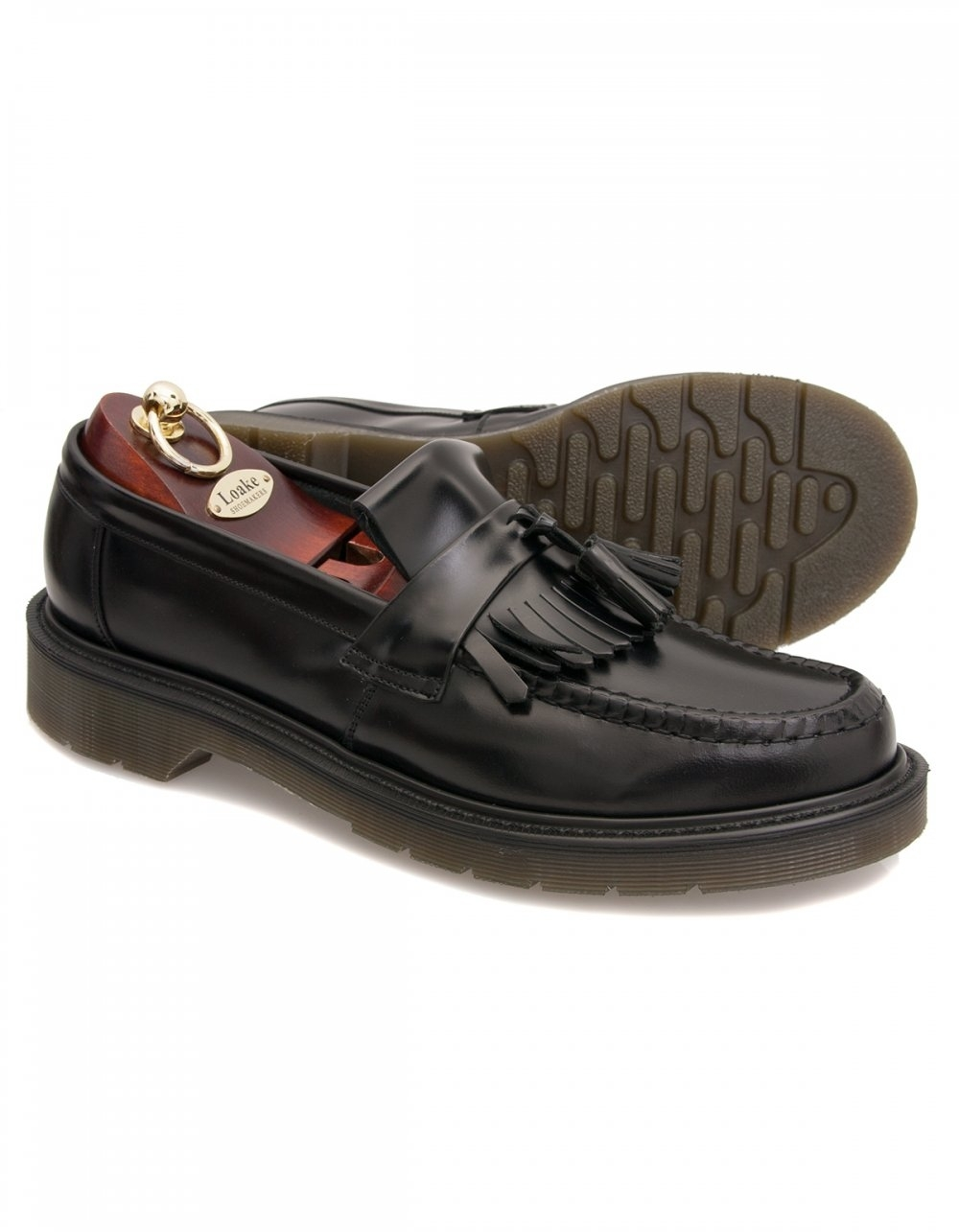 b648119d9ad Loake 623 Polished Loafer with Translucent Sole