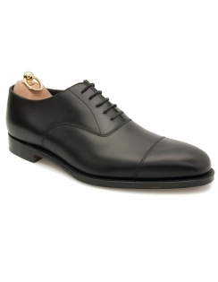 Aldwych burnished calf oxford shoe - Black