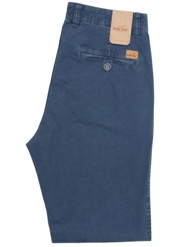 Bruhl Alex Pima Cotton Chino - Blue