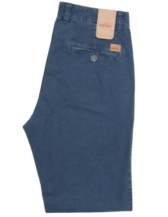 Alex Pima Cotton Chino - Blue