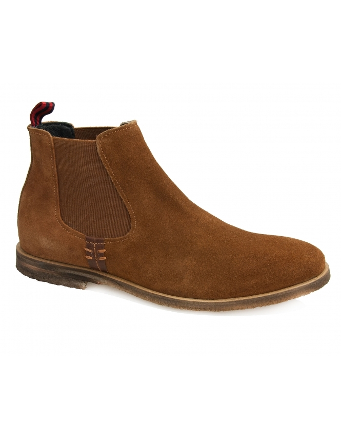 Maybury Ancora Suede Chelsea Boot - Tan