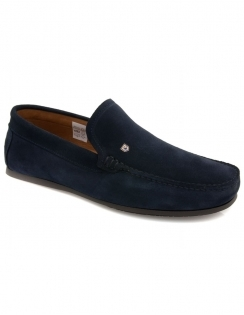 Azores Deck Shoe - French Navy