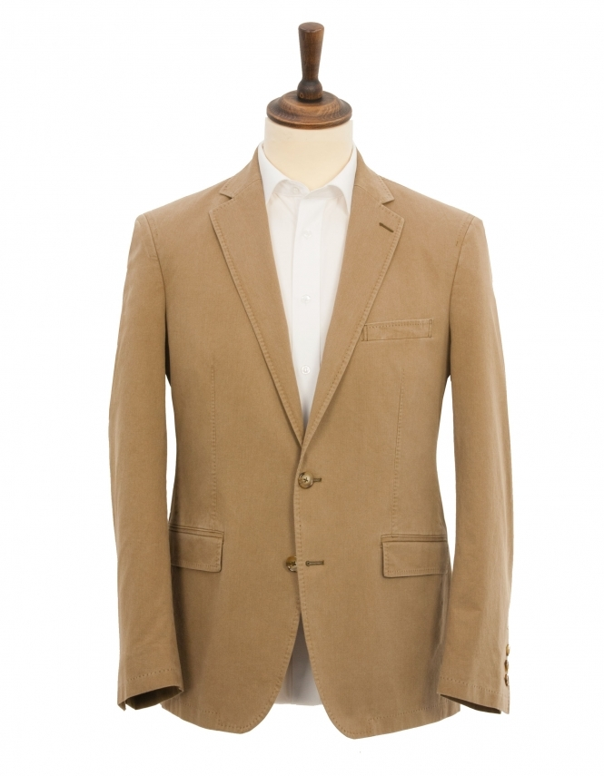 Douglas Barcelona Cotton Jacket - Taupe