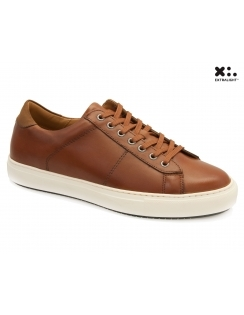 Bari Leather Sneaker - Tan