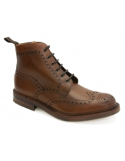 Bedale Premium Calf Brogues - Brown