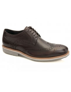 Belton Calf Brogue - Brown