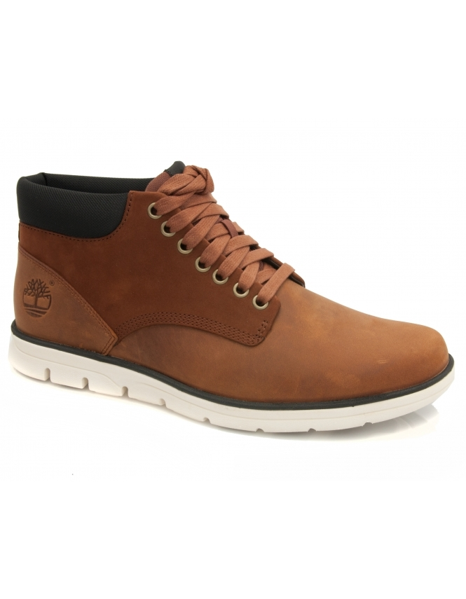 Timberland Bradstreet Chukka Boot - Red Brown