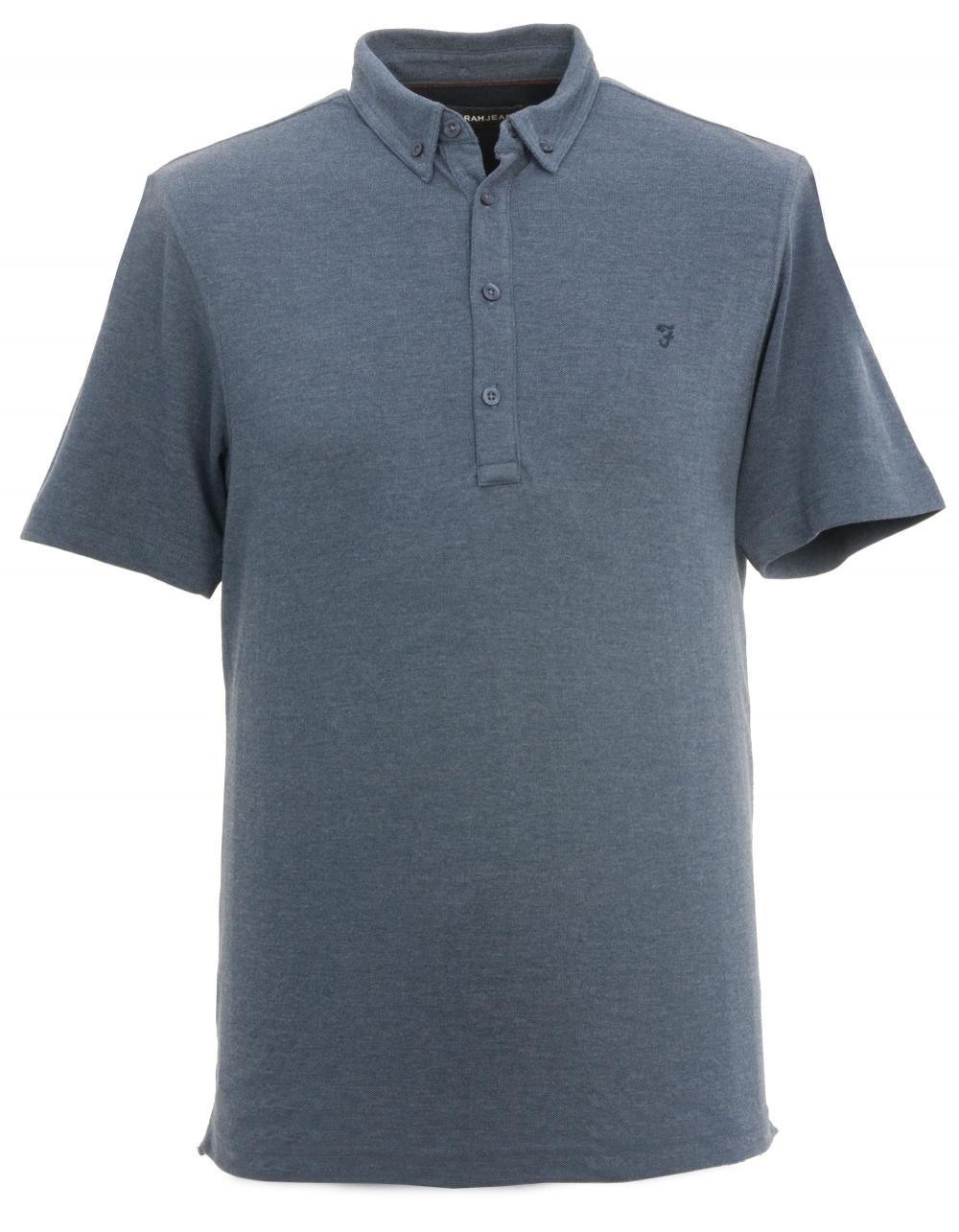 7c85d9fe63ffa Buchanan Button Down Polo Shirt - Blue