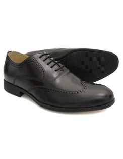 Bugatti Leather Brogues - Black
