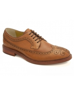Buxton Cognac Gibson Lace Brogues
