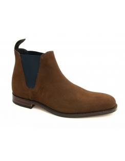 Caine Suede Chelsea Boot - Brown