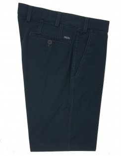Chester Cotton Chino With Stretch Waistband - Navy