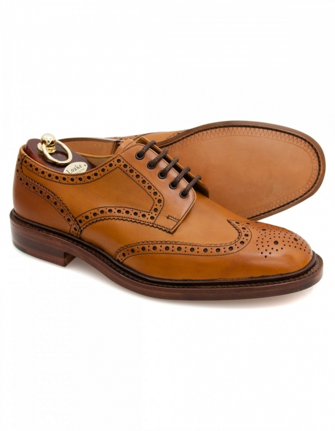 Loake Chester - Tan Burnished Calf