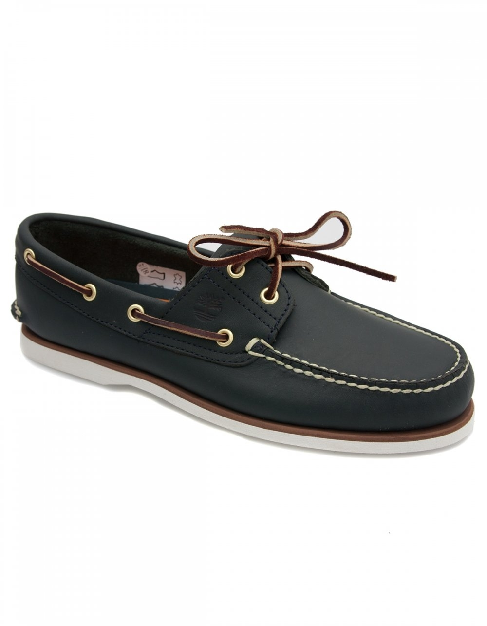 affordable price arrives wholesale price Classic 2 Eye Boat Shoe - Navy