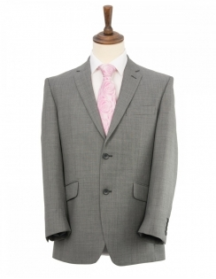 Classic Fit Light Grey Suit Jacket