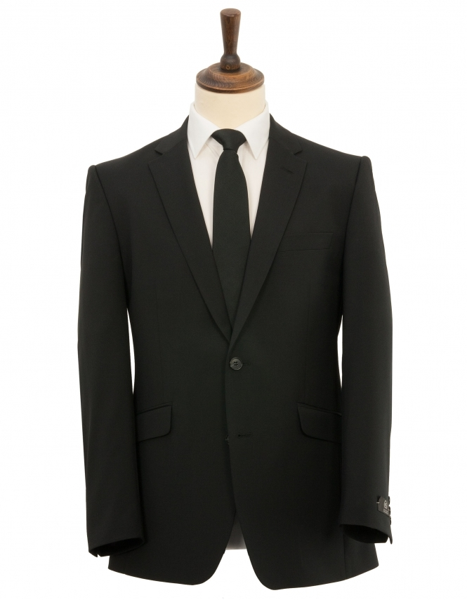 Scott Classic Fit Suit Jacket - Black