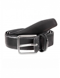 Classic Leather Lined 30mm Belt - Grey