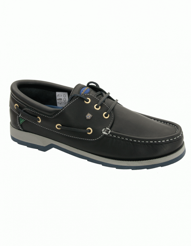 Dubarry Commander Padded Collar Luxury Boat Shoes - Navy
