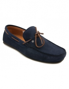 Corsica Deck Shoe - French Navy