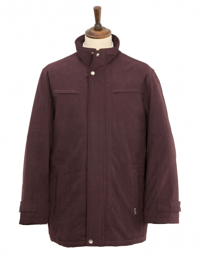 Wellington Danbury Casual Jacket - Burgundy