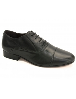 Dave Leather Oxford Shoe - Black
