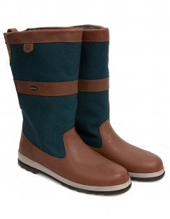 Dubarry Shamrock GORE-TEX® Yachting Boot - Brown & Navy
