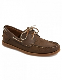 Earthkeeper Heritage 2 Eye Boat Shoe - Dark Brown