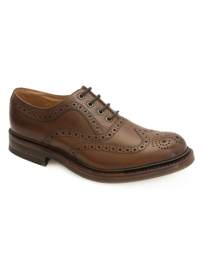 Loake Edward Premium Country Brogue - Brown