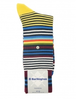 Fashion Stripe Sock - Marine