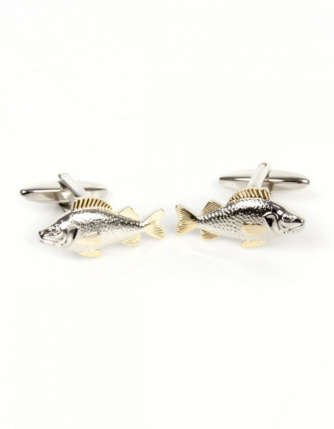 Dalaco Fish 2-Tone Cufflinks