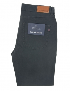 Fiveash Cotton Stretch Chino - Navy