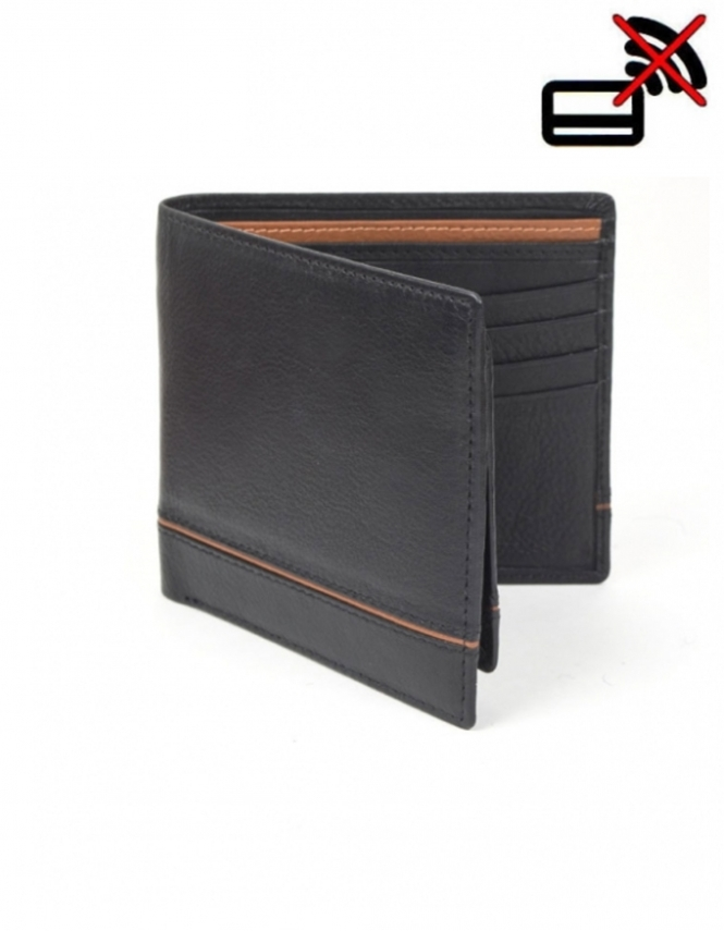 Dents Grain Leather Wallet and Removable Card Holder with RFID Blocking Protection