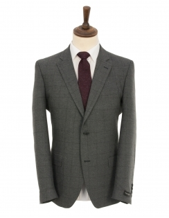 Grey Overcheck Penteadora Wool Rich Suit