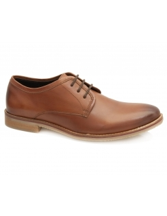 Harper Leather Derby - Tan