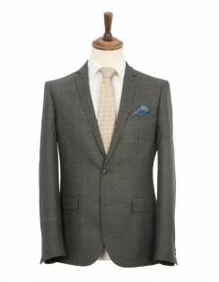 Harry Brown 2 Piece Slim Fit Suit - Grey Check