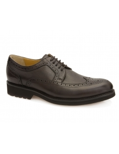 Ireland Grain Leather Brogue - Brown