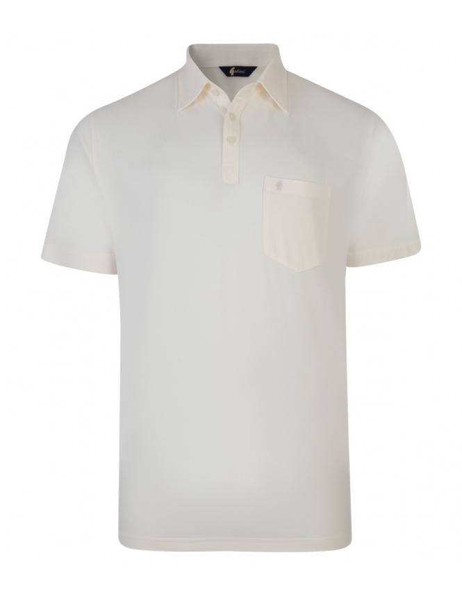 Gabicci Jersey Shirt - Cream