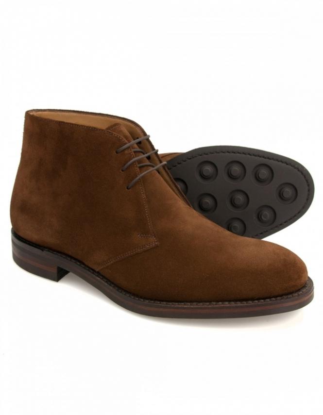 loake kempton brown suede chukka boot