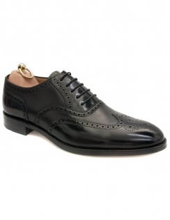 Lowick Oxford Full Brogue - Black
