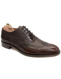 Lowick Oxford Full Brogue - Dark Brown