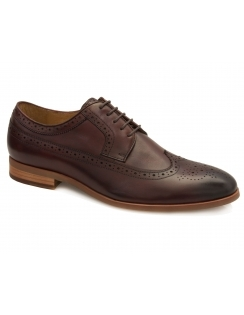 Lyme Leather Brogue - Bordo