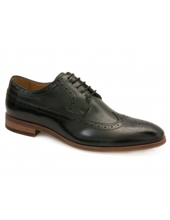 Lyme Leather Brogue - Green