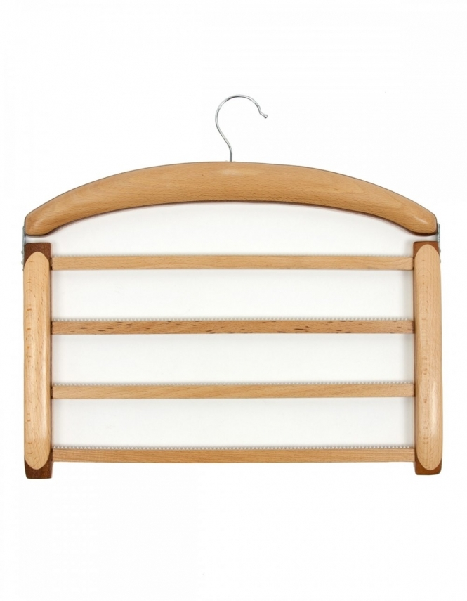 MagMouch Two Tone Wooden Trouser Hanger