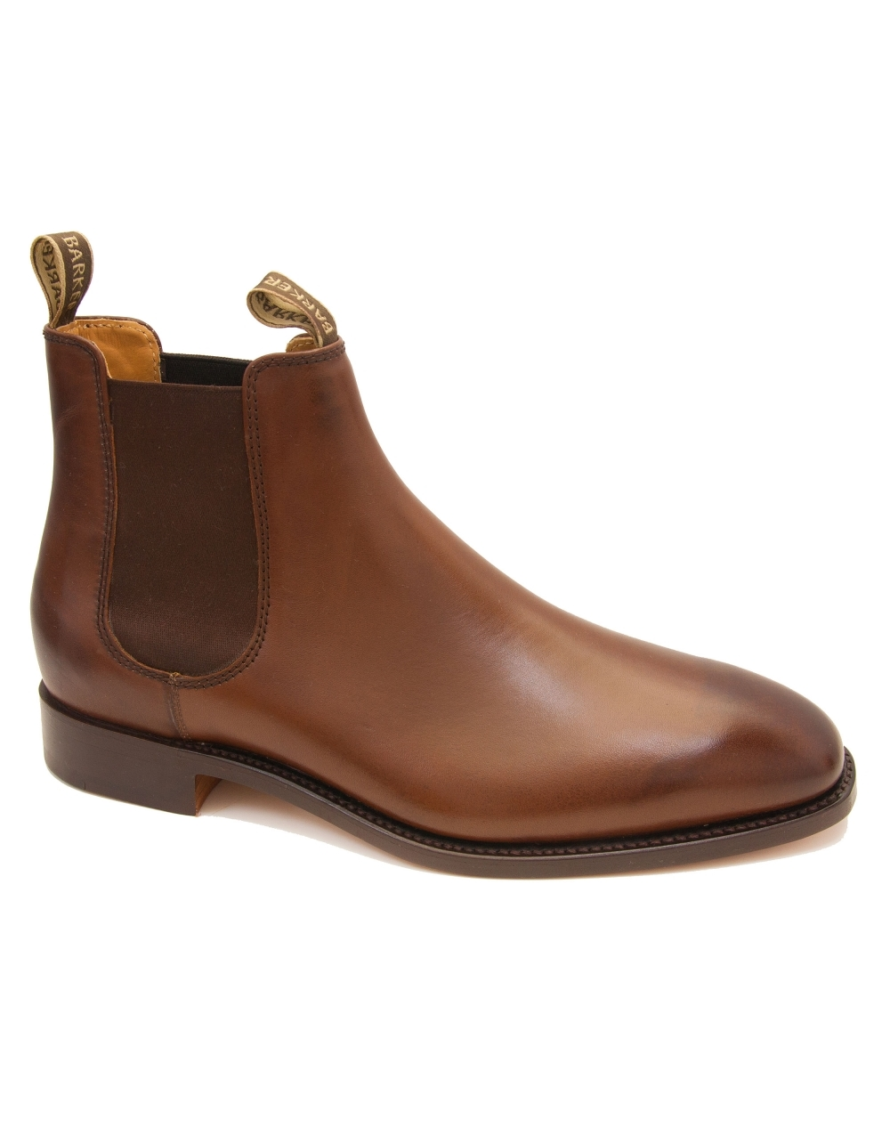 9996faefcf2 Mansfield Leather Chelsea Boot - Walnut